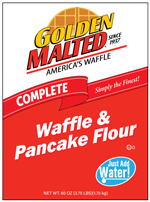 33705 - AddWater Waffle Flour 6/5# Bags